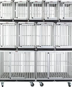 Aluminium waiting cage