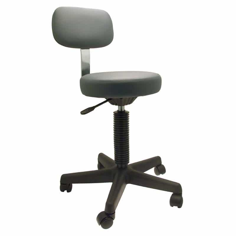 Sofia Stool With Back Support Groom Professional